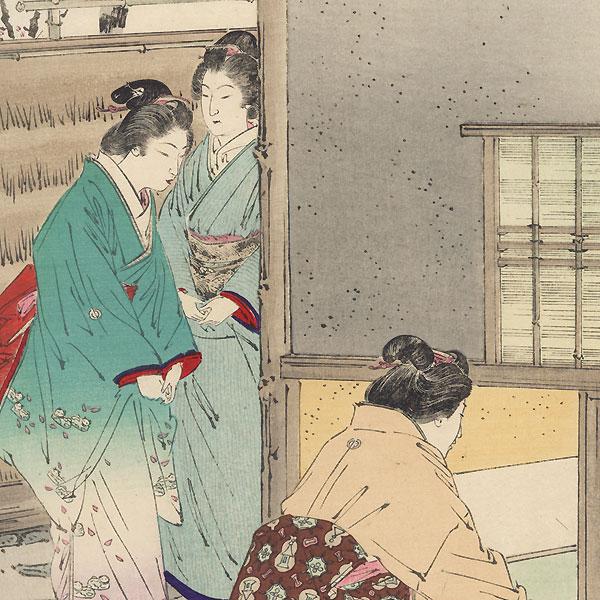Tea Ceremony by Gekko (1859 - 1920)