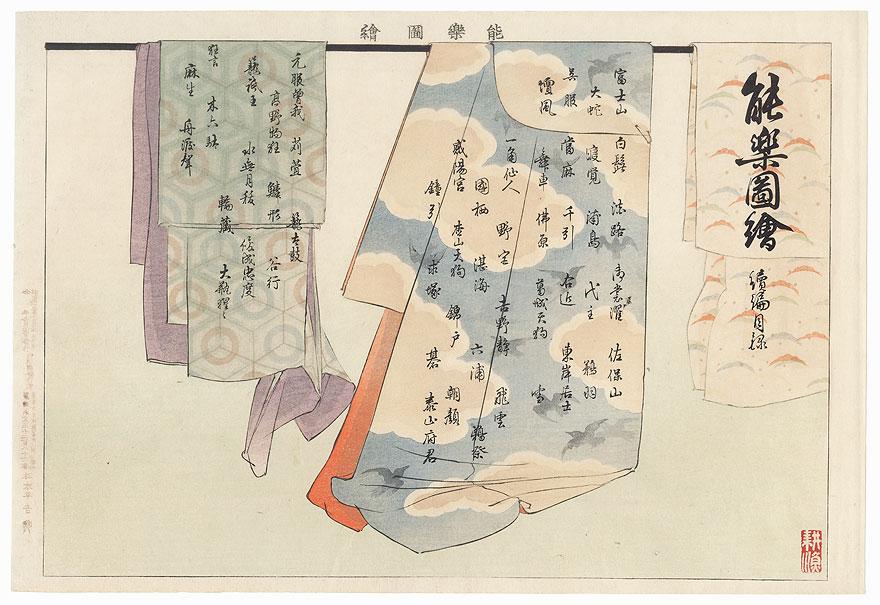 Table of Contents, Volume 2 by Tsukioka Kogyo (1869 - 1927)