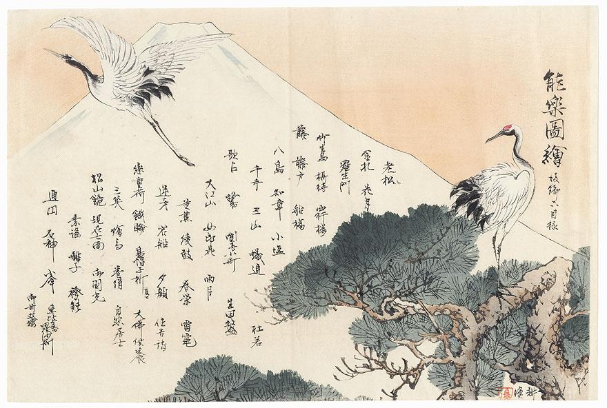 Table of Contents, Volume 2, No. 2 by Tsukioka Kogyo (1869 - 1927)