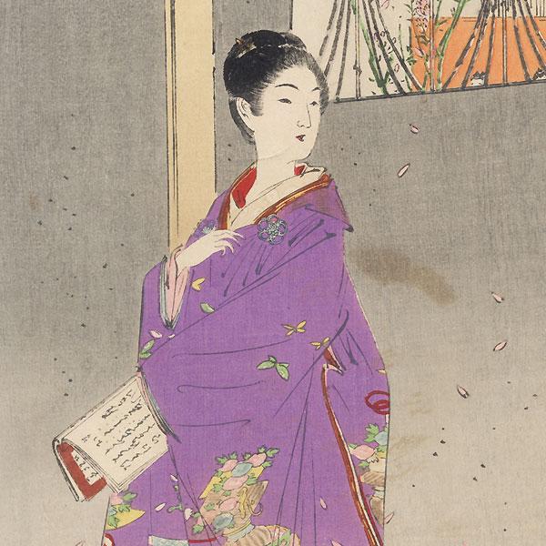 Girls' Festival (Hinamatsuri) by Gekko (1859 - 1920)