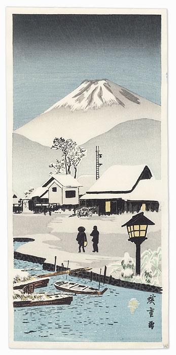 Nihonmatsu by Hiroshige IV (active circa 1920s - 1930s) (After Shotei)