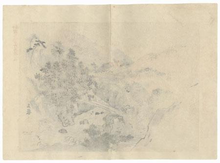 View of Yase, 1894 by Gyokusen