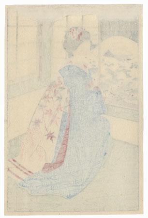 Kyoto Maiko at a Window by Shin-hanga & Modern artist (unsigned)