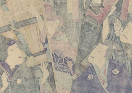 The Beauty Yaoya Oshichi by Kunichika (1835 - 1900)