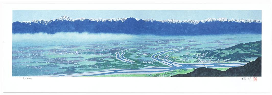 Azumino View by Saito Toshio