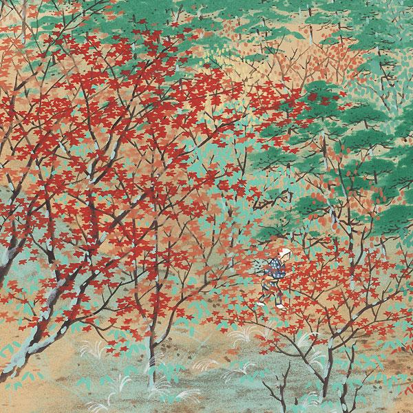 Autumn, Rakuhoku, 1986 by Uda Tekison