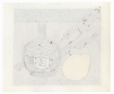 Still-life, 1986 by Yutaka Ohkubo (1924 - 2008)