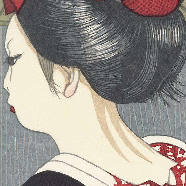 October: Autumn Rain by Junichiro Sekino (1914 - 1988)