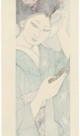 September: September's Maiko by Junichiro Sekino (1914 - 1988)