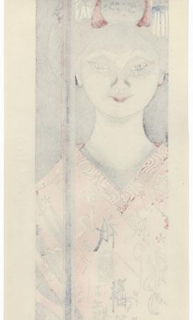 May: Early Summer Rain by Junichiro Sekino (1914 - 1988)