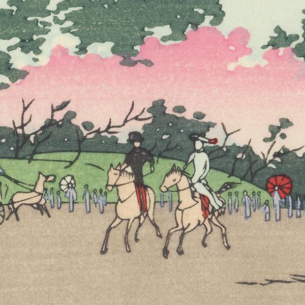 Ueno Park by Yasuji Inoue (1864 - 1889)