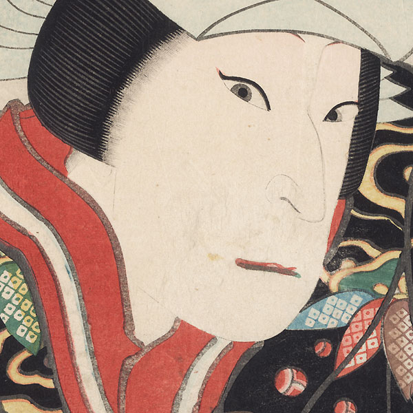Sawamura Kito as Koshimoto Shiori, 1849 by Hirosada (active circa 1847 - 1863)