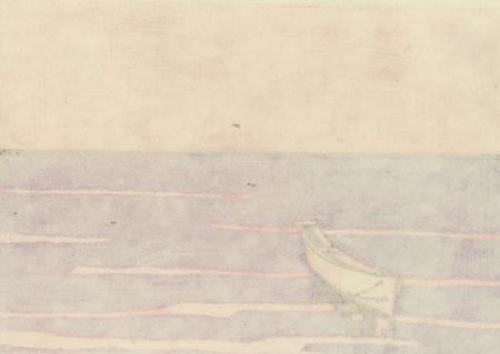 The Conoue on Nibaru Beach by Miyata Saburo (1924 - 2013)
