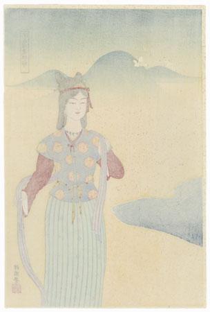 Princess Sakuya by Shin-hanga & Modern artist (not read)