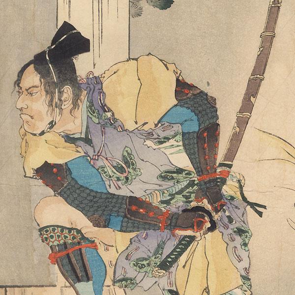Revenge of the Soga Brothers by Meiji era artist (not read)