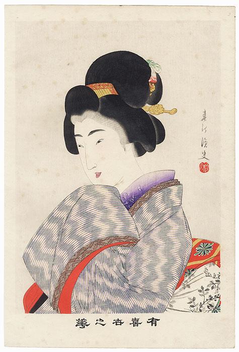 Yamanote by Shuntei Miyagawa (1873 - 1914)