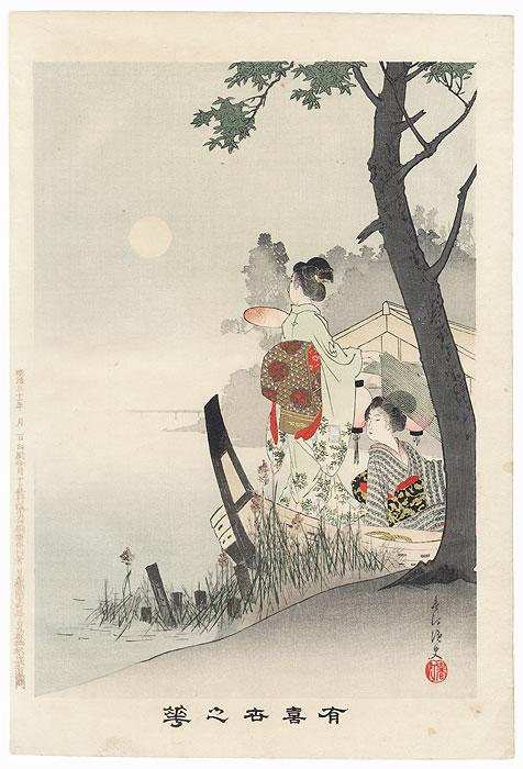 Pleasure Boat by Miyagawa Shuntei (1873 - 1914)