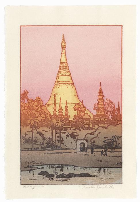 Rangoon, 1984 by Toshi Yoshida (1911 - 1995)