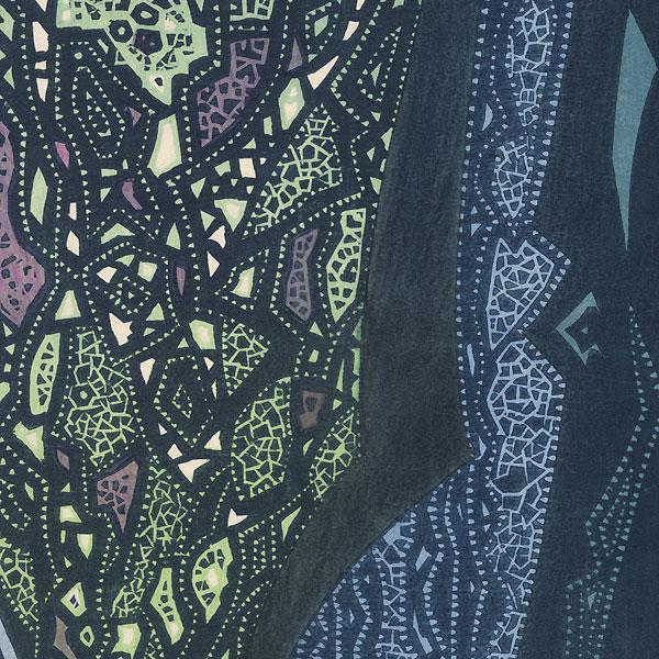 Starlight, 1973 by Toshi Yoshida (1911 - 1995)