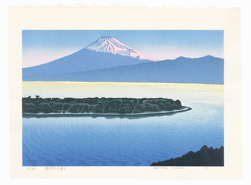 Morning Glow at Mt. Fuji, 2005 by Koichi Maeda (born 1936)
