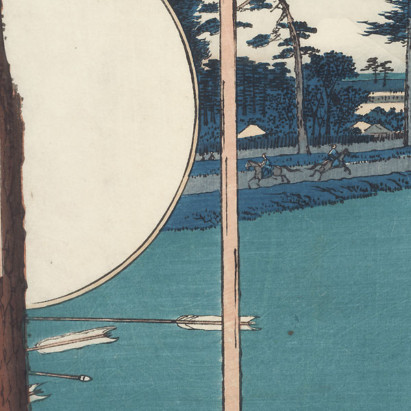 Takata Riding Grounds, 1857 by Hiroshige (1797 - 1858)