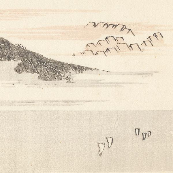 Shirasuka by Hokusai (1760 - 1849)