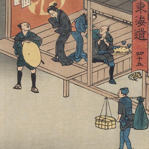 Ishiyakushi, Station No. 45 by Hiroshige (1797 - 1858)