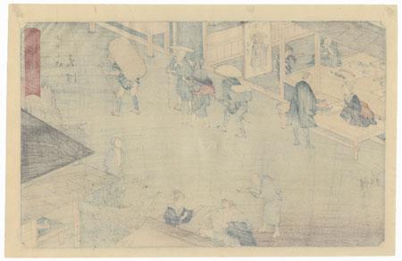 Otsu, Station No. 54 by Hiroshige (1797 - 1858)