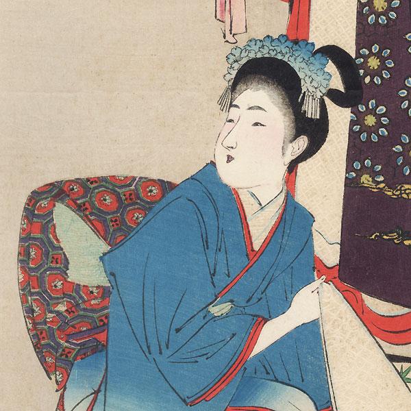 November: Dressing, 1898 by Miyagawa Shuntei (1873 - 1914)