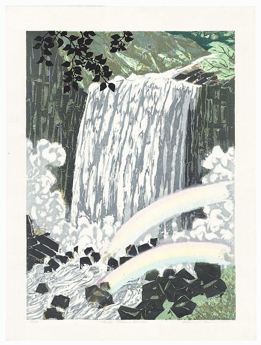 Falls and Rainbows, 1972 by Fumio Kitaoka (1918 - 2007)