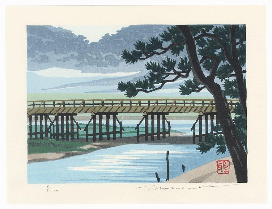 Arashiyama by Masao Ido (1945 - 2016)