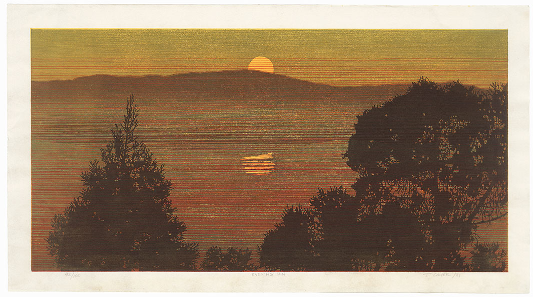 Evening Sun, 1981 by Ted Colyer (born 1947)