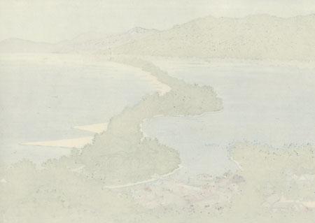 Amanohashidate, 2008 by Masao Ido (1945 - 2016)