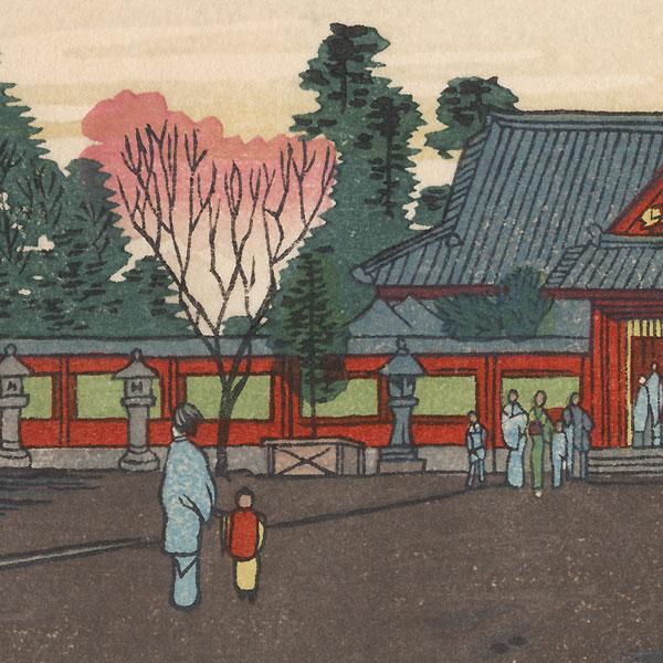 Hie Shrine by Yasuji Inoue (1864 - 1889)