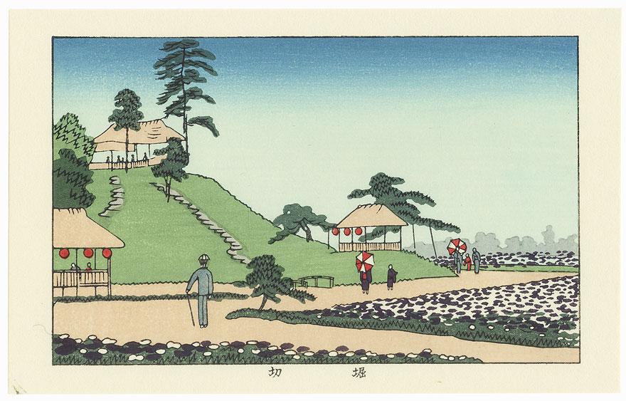 Iris at Horikiri by Yasuji Inoue (1864 - 1889)