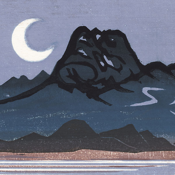 Myoko Kiyotsuki (Transparent Moon at Myoko), 1982 by Masaya Watabe (born 1931)