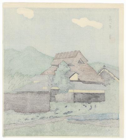 Hino by Tokuriki (1902 - 1999)