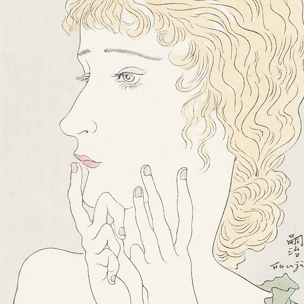 Blond Woman, 1934 by Leonard Tsuguharu Foujita (1886 - 1968)