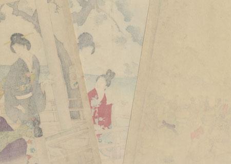 Buddha Festival by Chikanobu (1838 - 1912)