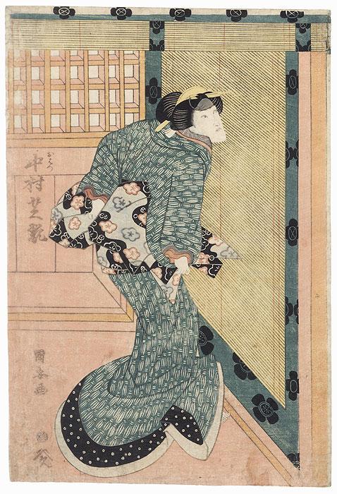 Nakamura Shikan as Ohatsu, 1819 by Kuniyasu (1794 - 1832)