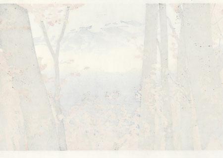 Autumn: Shirakami Mountains by Seiji Sano (born 1959)