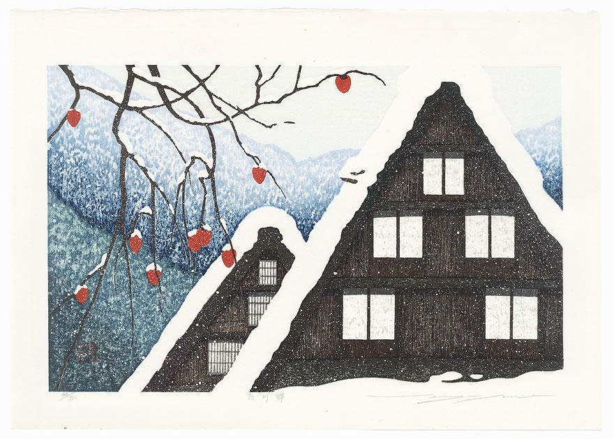 Winter: Shirakawa Countryside by Seiji Sano (born 1959)