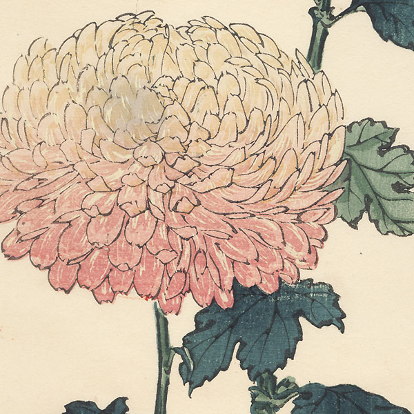 Moonlight Chrysanthemum by Keika Hasegawa (active 1892 - 1905)