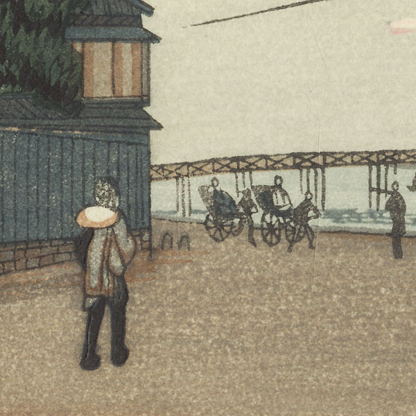 Umayabashi Bridge by Yasuji Inoue (1864 - 1889)