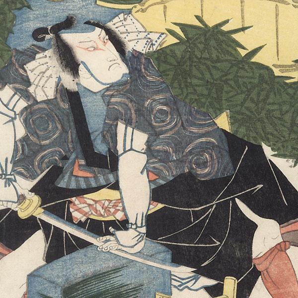Bando Mitsugoro and Segawa Kikunojo, 1820 by Toyokuni I (1769 - 1825)