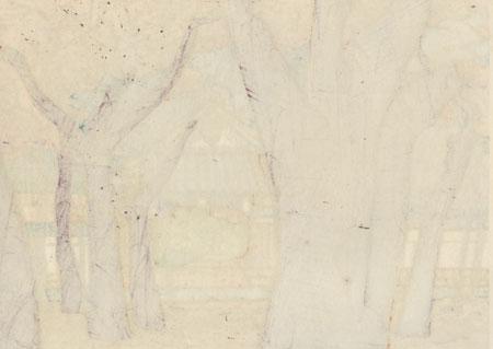 Nanzenji Shoinan, 1983 by Clifton Karhu (1927 - 2007)