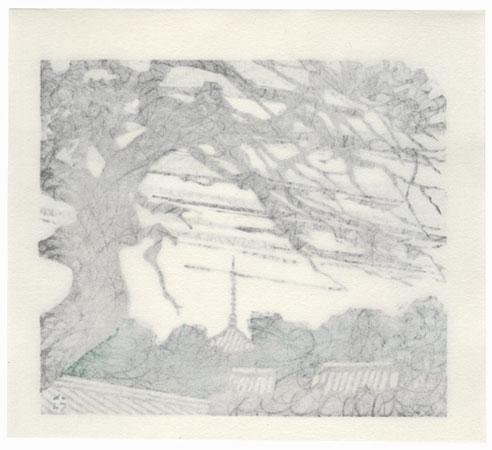 Late Autumn in Sanukiji, 1985 by Takao Sano (born 1941)