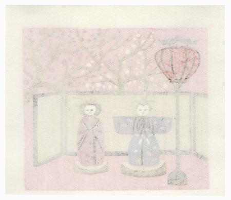 Doll Festival, 1986 by Shiro Takagi (born 1934)