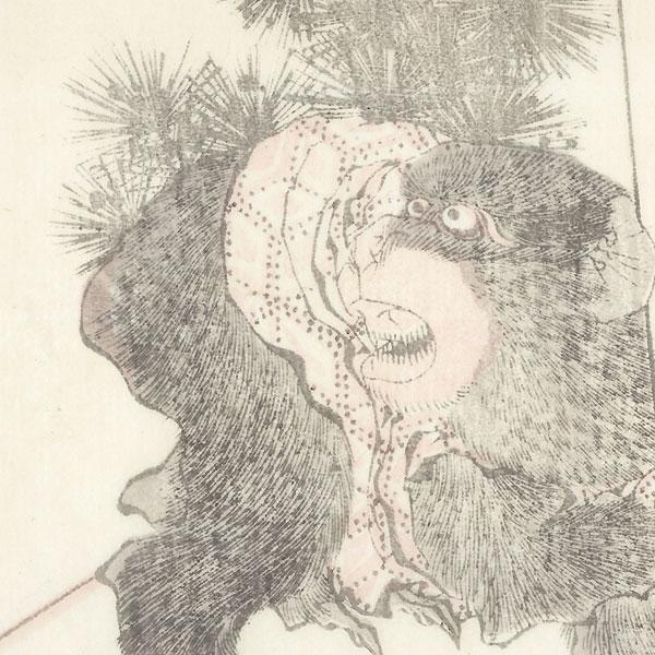 Monkey by Hokusai (1760 - 1849)