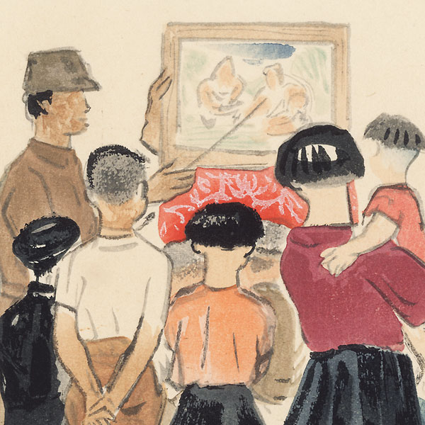 Picture-Story Teller, 1939 by Wada Sanzo (1883 - 1968)